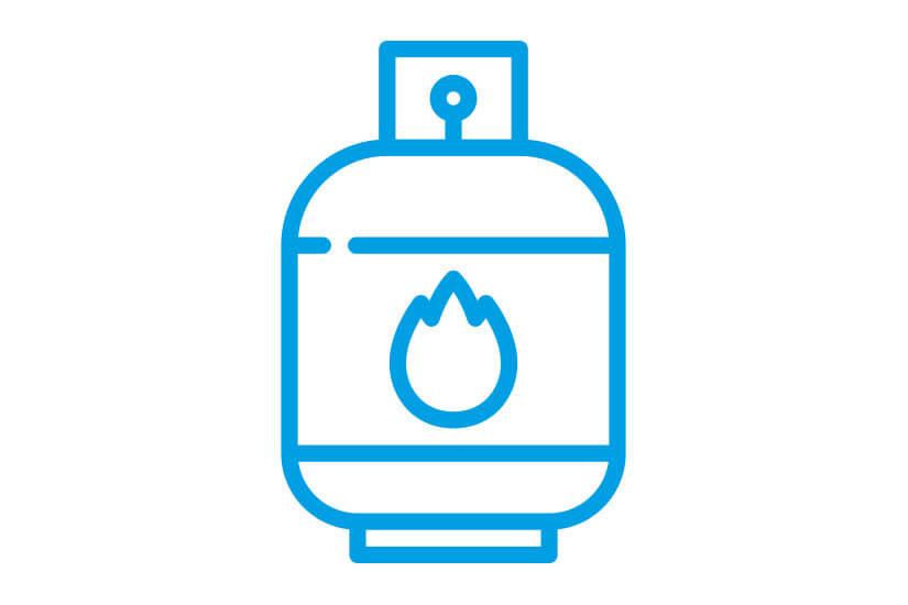 Gasflaschen-Service